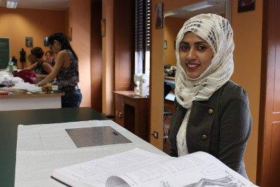 Studentessa moda Arabia Saudita