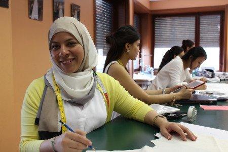 Studentessa moda Kuwait
