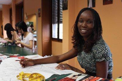 Studentessa moda Kenya