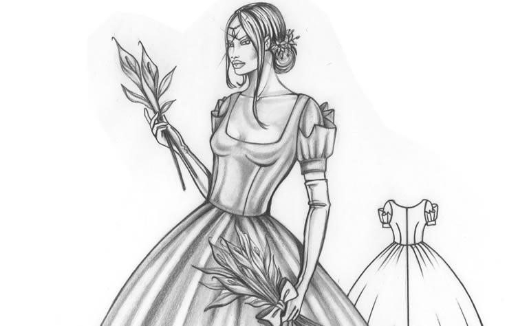 Diseno de modas vestidos de novia